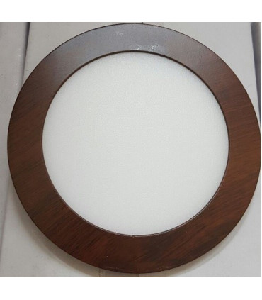 Downlight 12w Color Madera 3200K
