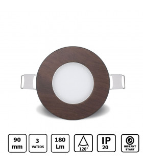 Downlight 18w led Color Blanco Frio
