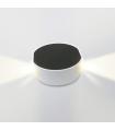 Aplique LED 6W redondo luz quente