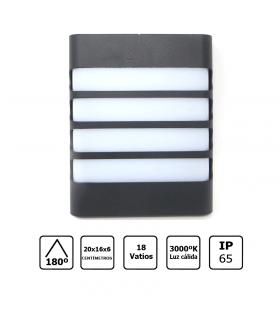 Aplique LED 6W redondo luz cálida