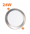 Downlight 24w led Níquel