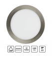Downlight 18w Led Marco Plata Inox