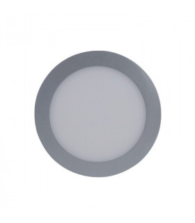 Downlight 18w Led Gris Satinado