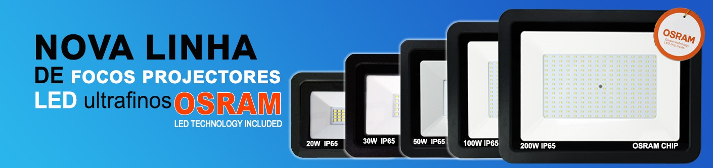 Focos Projectores led Ultrafinos