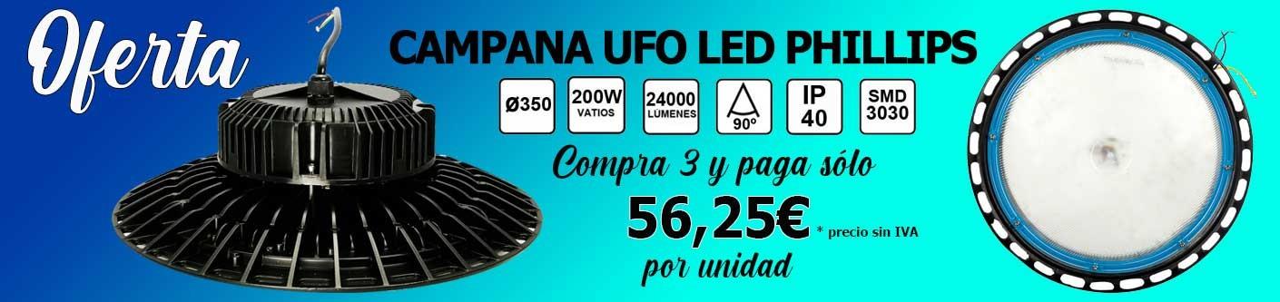 Oferta de 3 Campanas UFO Phillips